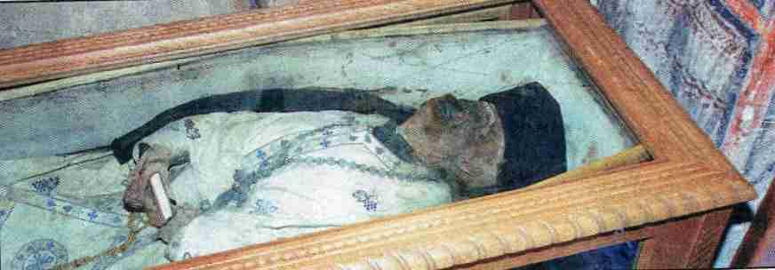 Το άφθαρτο σκήνωμα του γέροντα Βησσαρίωνα